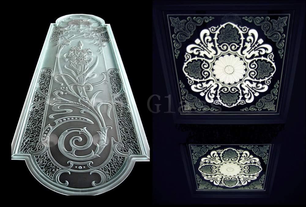 Обработка стекла и зеркал, шлифовка, полировка, фацет, фьюзинг, гравировка, художественный декор