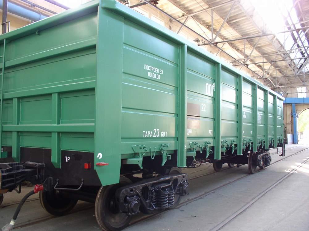 Заказать Аренда грузовых полувагонов