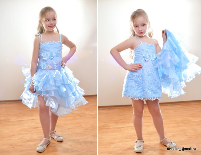 Сшить платья для детского выпускного