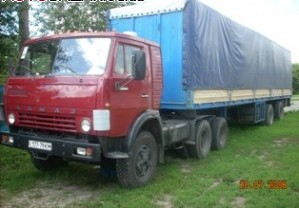 Заказать Грузовые перевозки КАМАЗ 53212