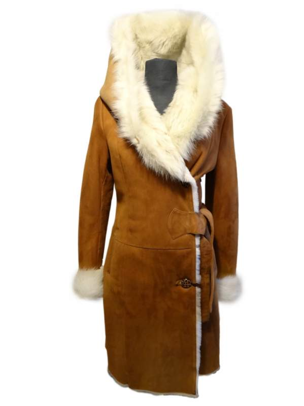 Dry-cleaner of a sheepskin coat long order in Kiev
