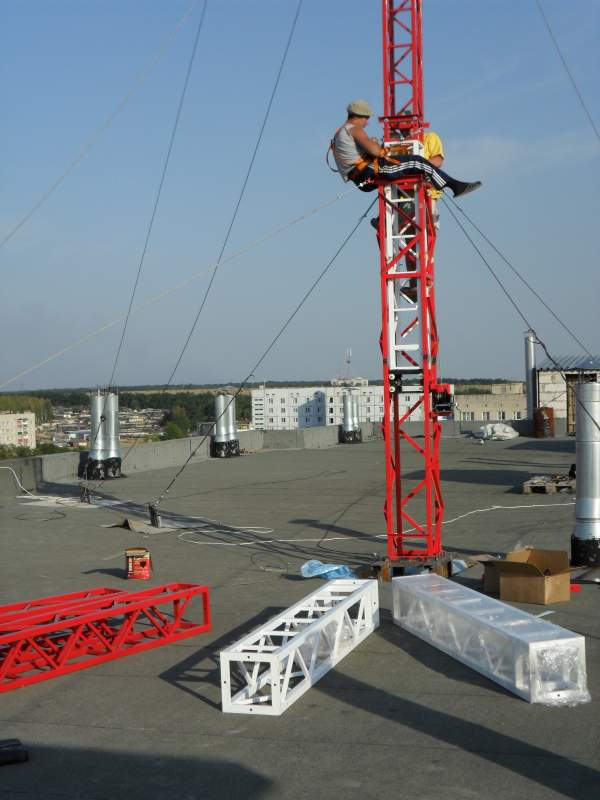 Order Installation of antenna masts