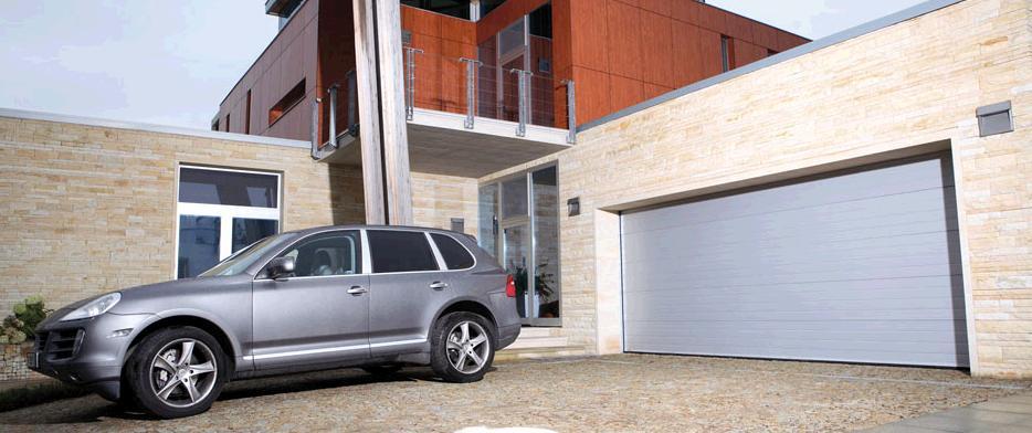 Заказать Cекционные гаражные ворота, промышленные ворота под размер, автоматика для ворот Kruzik