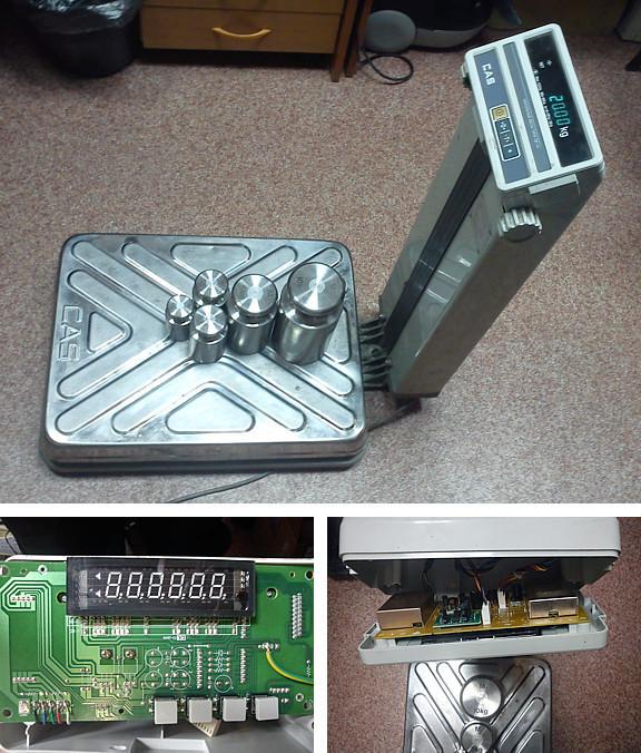 ремонт весов электронных