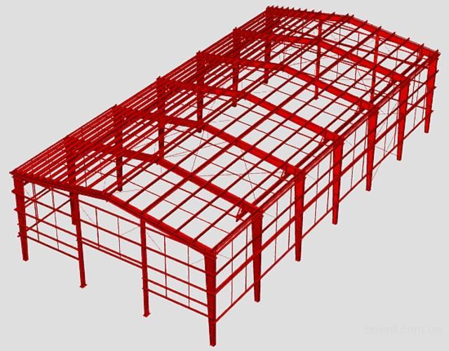 Заказать Металлоконструкции, Металлические конструкции, Строительные конструкции.