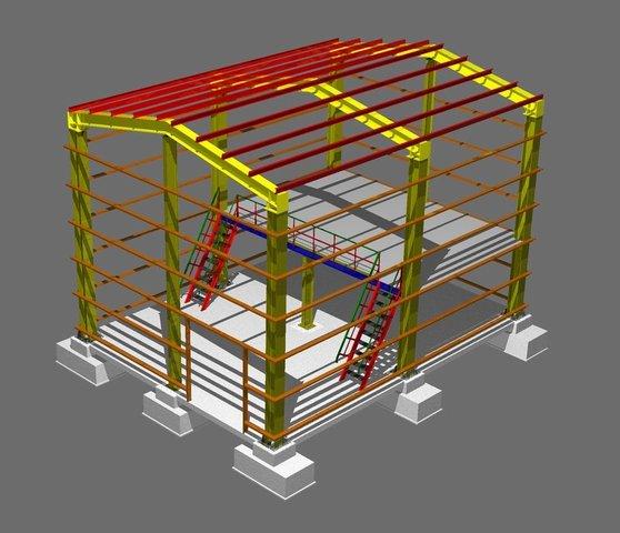 Заказать Строительные металлоконструкции, Металлические конструкции, Строительство, Металлоконструкции