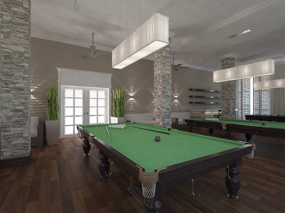 Заказать Дизайн интерьера бильярдных и ночных клубов в Крыму