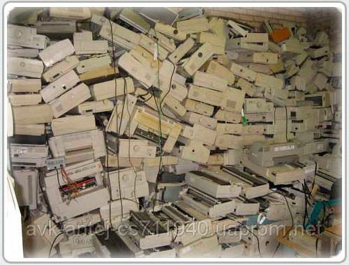 Заказать Утилизация,переработка оргтехники,оборудования