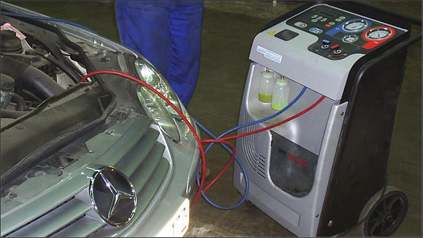 Заказать Заправка и ремонт автомобильных кондиционеров; ремонт и обслуживание холодильного оборудования