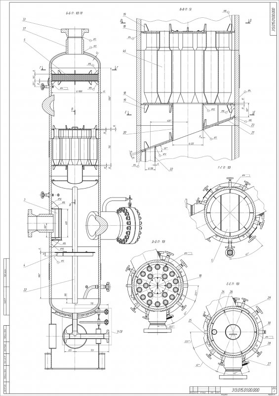 Изготовление конструкторских чертежей по Вашему эскизному проекту