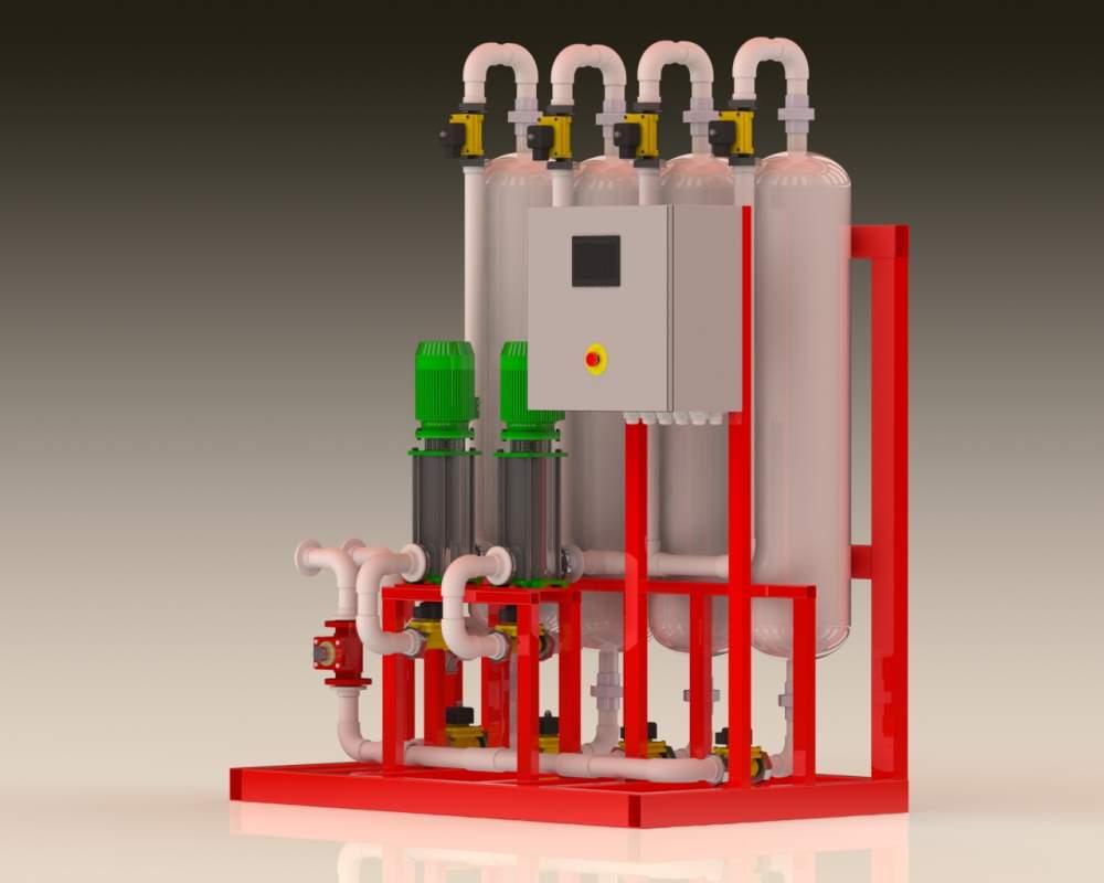 Заказать Системы промышленной водоподготовки и водоочистки