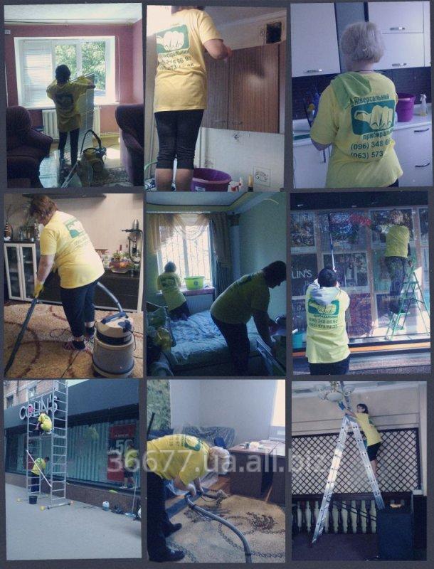 Заказать Генеральная уборка квартир, коттеджей, домов, офисов, помещений.
