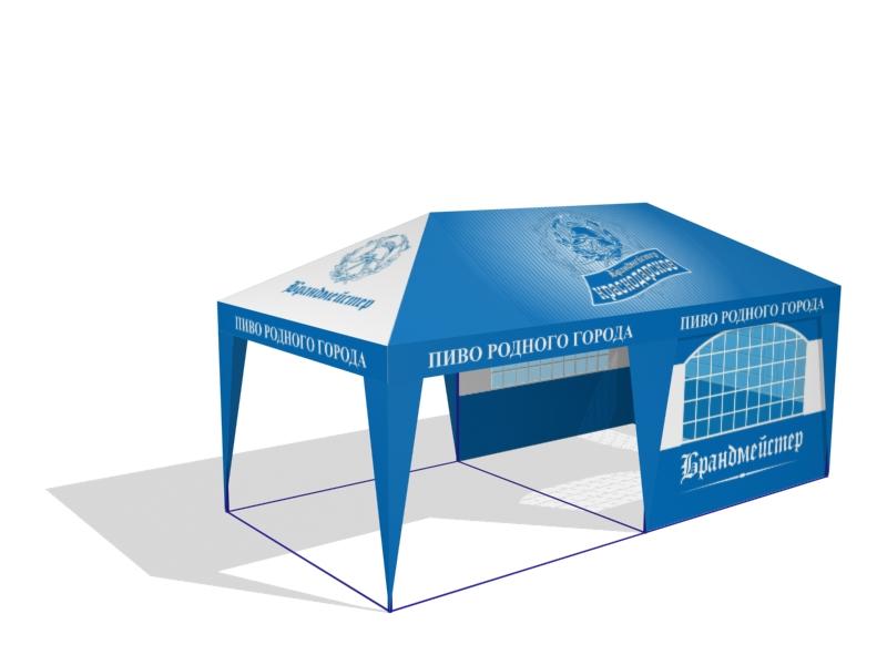 Заказать Изготовление торговых палаток на заказ