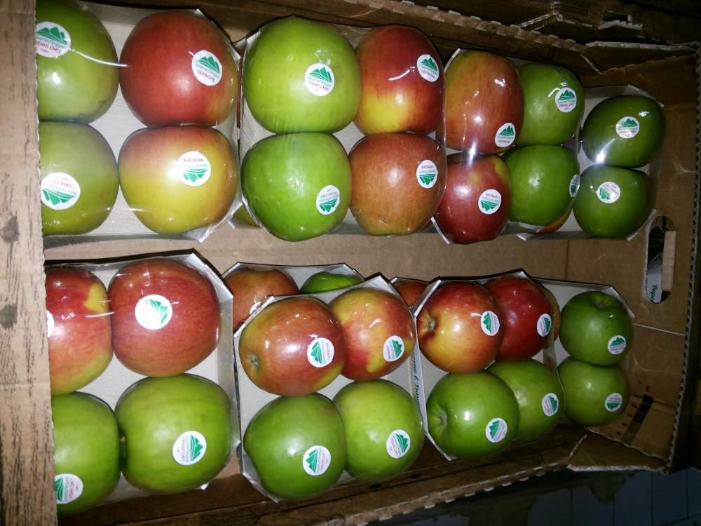 Заказать Приват лейбл яблоки