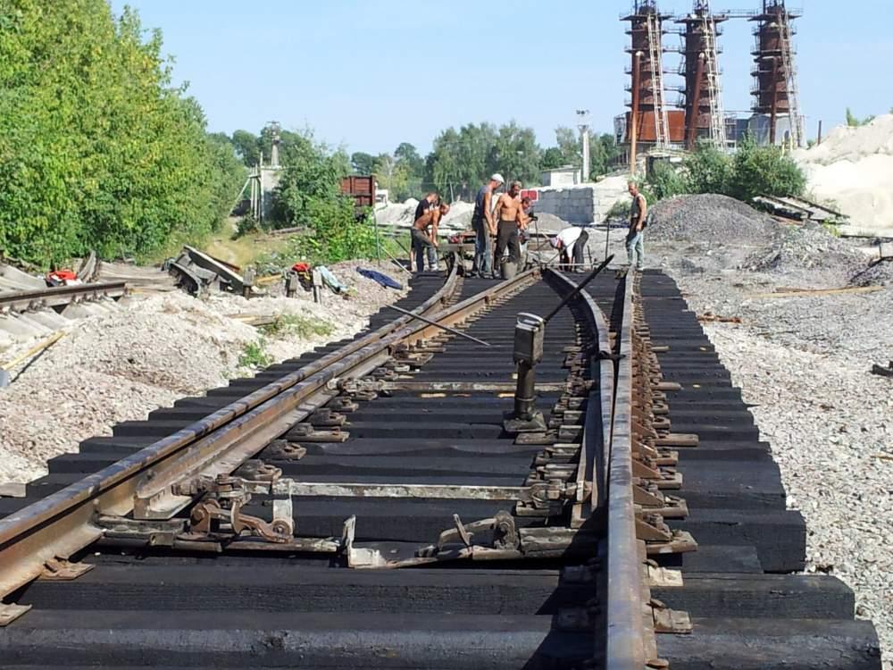 Заказать Ремонт подъезных железнодорожных путей и стрелочных переводов