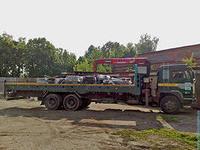 Заказать Перевозки строительных материалов на паллетах
