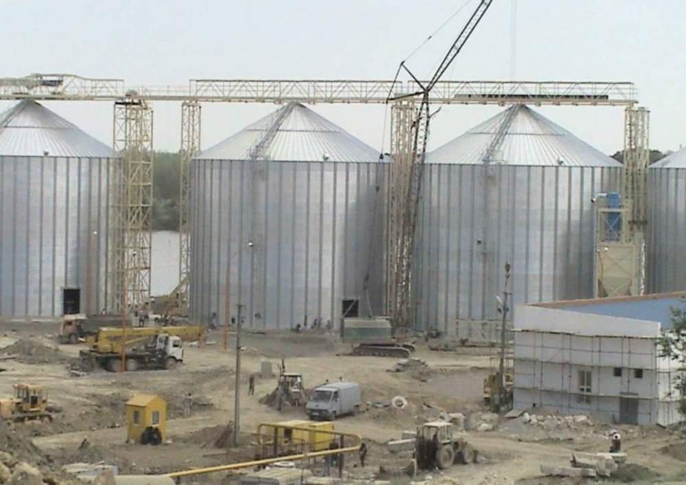 Строительство элеваторов зернохранилищ мототележка аврора транспортер 333