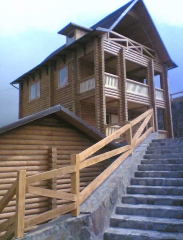 Заказать Строительство деревянных домов, коттеджей, бань, саун