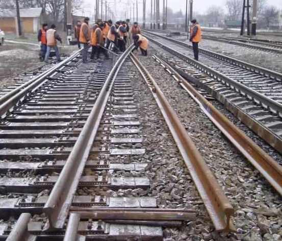 Заказать Текущее содержание подъездных железнодорожных путей и стрелочных переводов