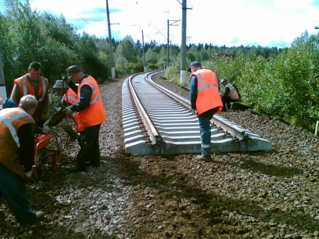 Заказать Ремонт подъездных путей железнодорожных