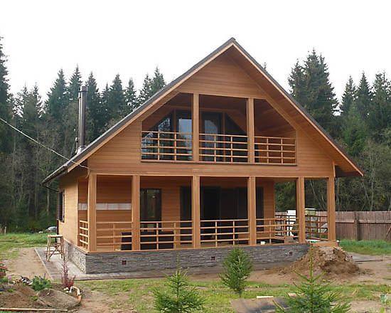 Заказать Строительство домов из дерева, заказать в Ивано-Франковске