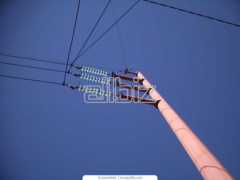 Заказать Электромонтажные работы на высоте