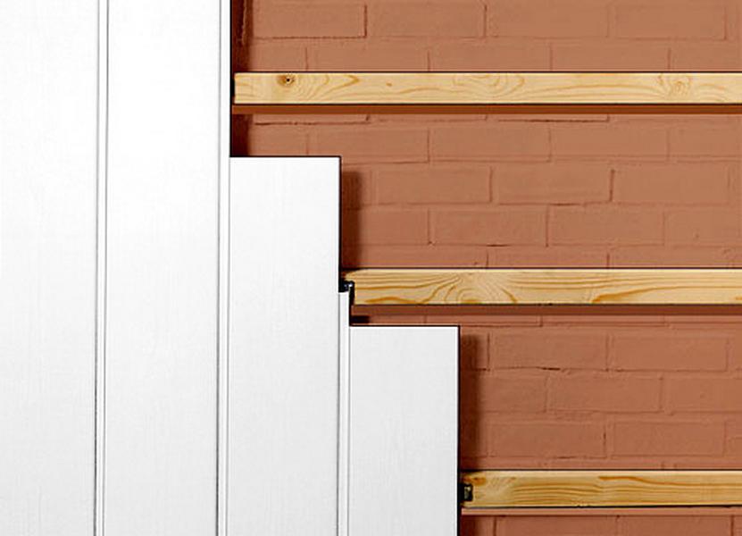 Isolation mur exterieur bardage bois vannes devis for Pose lambris pvc exterieur