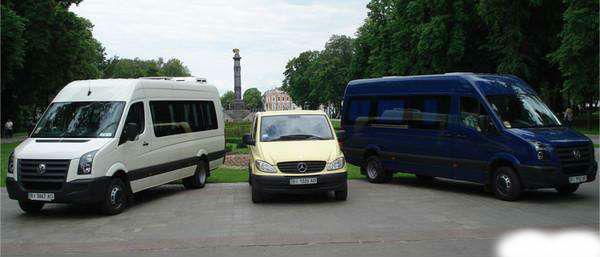 Заказать Аренда микроавтобуса в Кривом Роге
