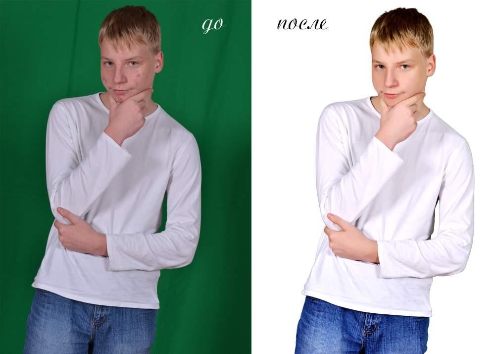 обработка фотографий на заказ
