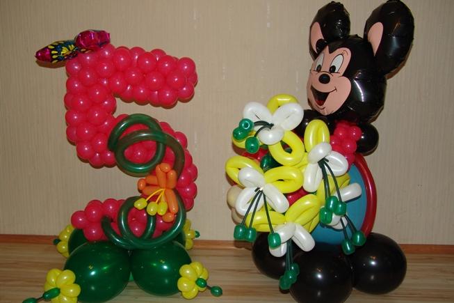 Заказать Фигуры из шаров