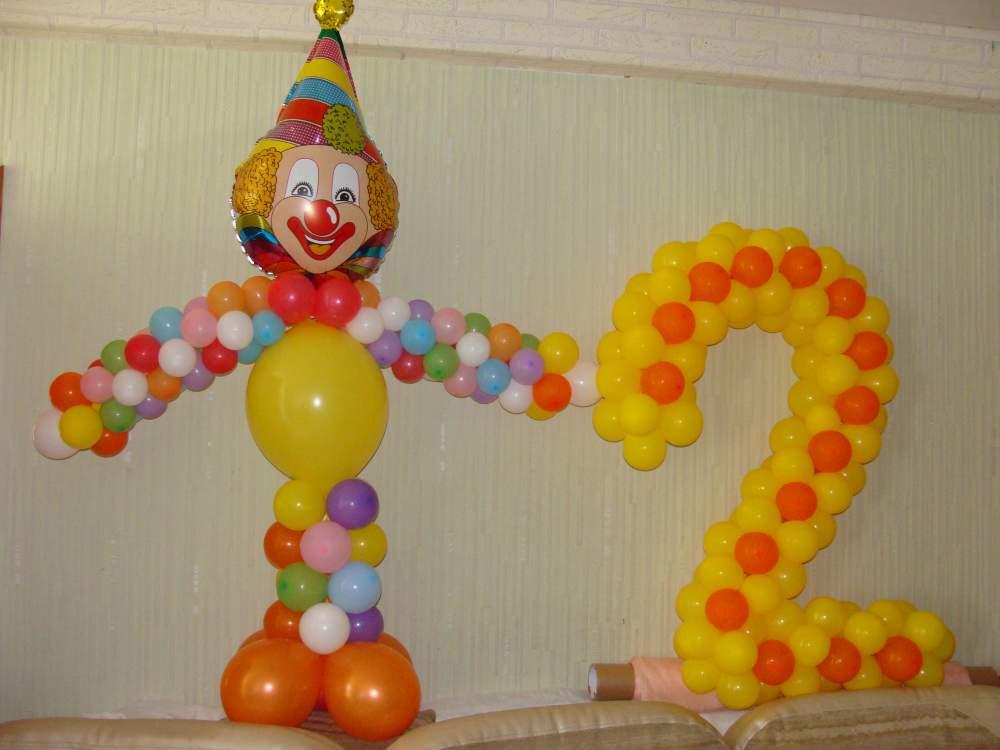 Заказать Клоун из шаров