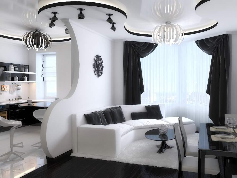 Дизайн квартиры на мансарде