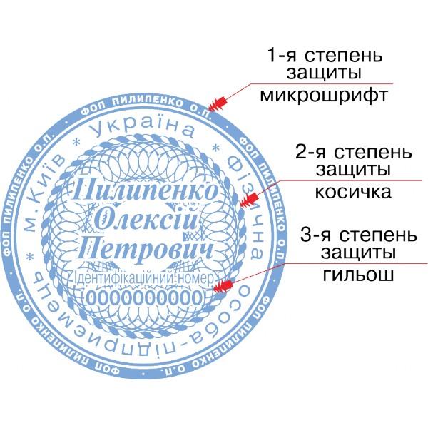 Изготовление печати штампа