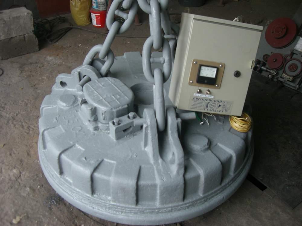 Заказать Ремонт грузоподъемных электромагнитов (шайб), железоотделителей, изготовление и ремонт пусковых магнитных станций.