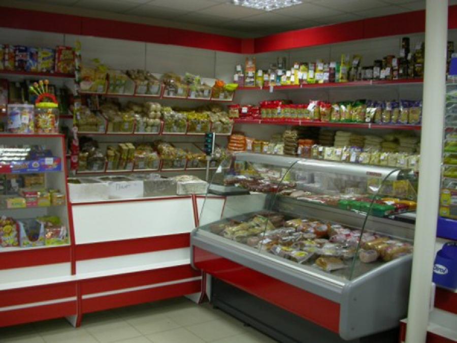 Дизайн магазина продукты