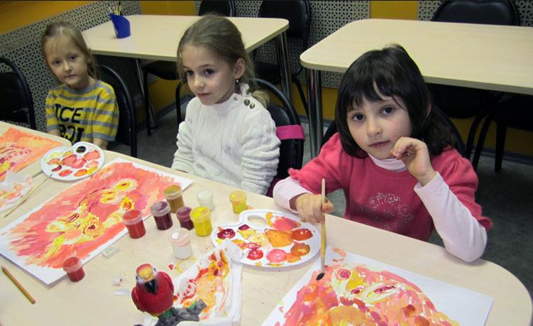 Заказать Уроки рисования для детей