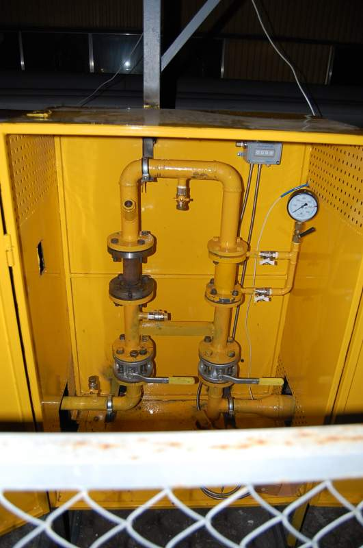 Монтаж узлов учета газов