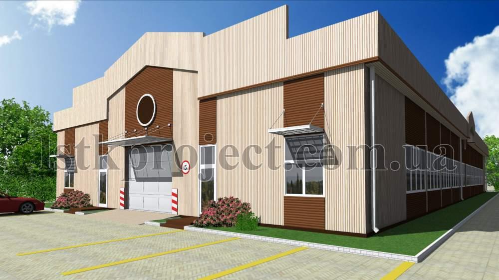 Заказать Проектирование офисных и промышленных зданий из ЛСТК