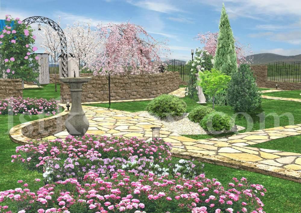 Заказать Ландшафтный дизайн, 3D визуализация, благоустройство территорий