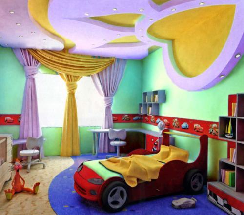 Заказать Дизайн детской комнаты