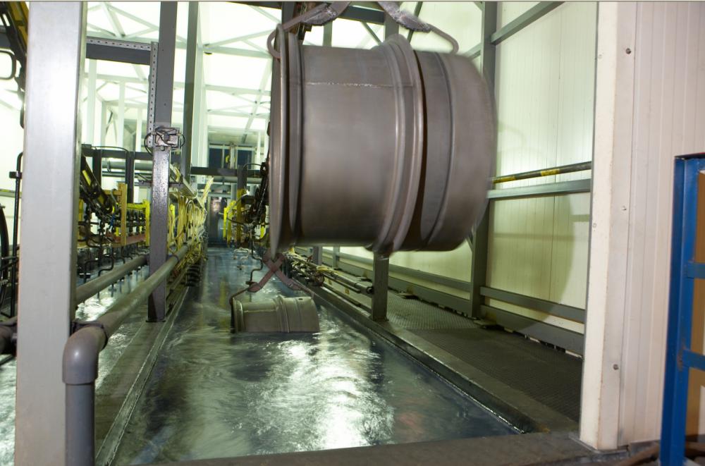 Заказать Услуги в промышленной покраске стальных изделий катафорезным грунтом PPGPowercron 6000 (черный)