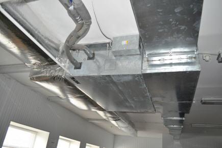 Заказать Ремонт и обслуживание вентиляционных систем.