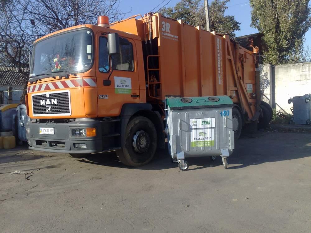 Заказать Вывоз,сбор,сортировка, переработка бытовых отходов