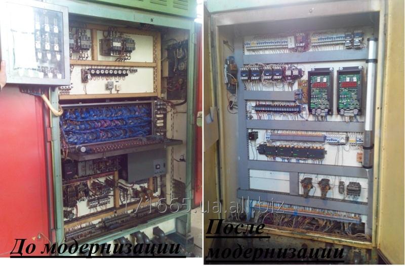 Заказать Модернизация промышленного оборудования.