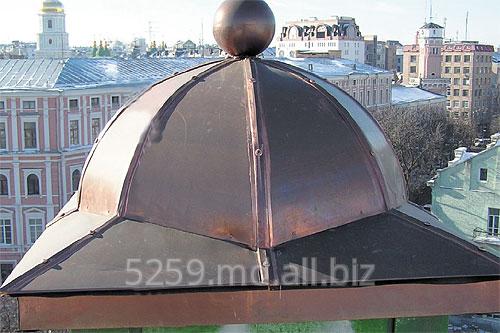 Заказать Устройство декоративных куполов из меди