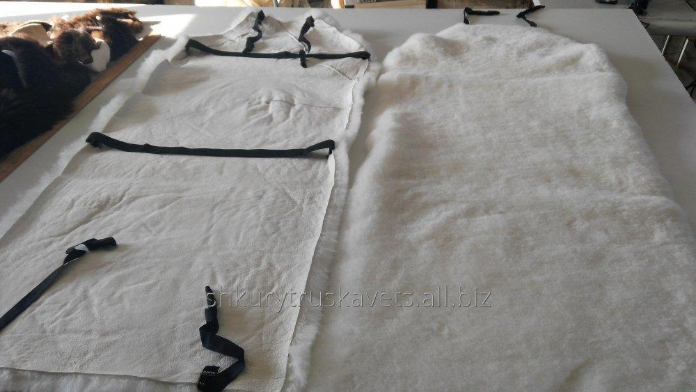 Order Sewing car seat covers made of animal skins to order