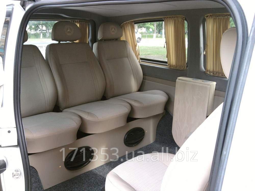 Заказать Перевозка пассажиров и мелко-габаритных грузов на автомобиле Mercedes Vito