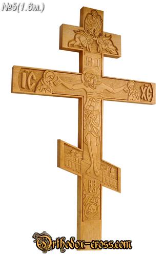 Заказать Резьба по дереву :кресты могильные дубовые с художественной резьбой