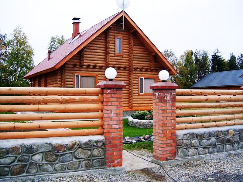 Строительство деревянных заборов любой сложности, Киев
