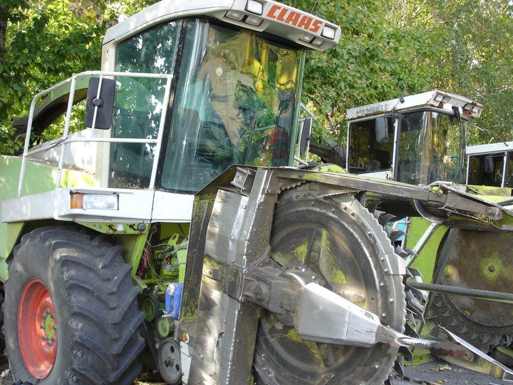 Заказать Сбор кукурузы на силос подбор травы